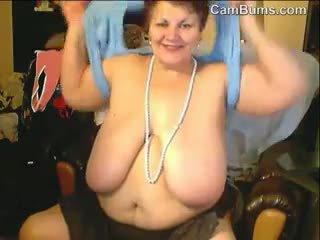 webcam, bbw, granny, solo