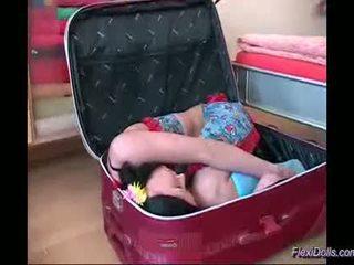 Flexible kamasutra doll toying