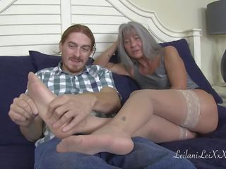 controleren grote lul film, oma video-, fetisch seks