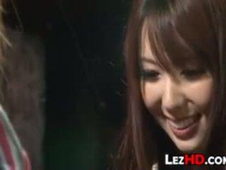 ιαπωνικά γεμάτος, γλείψιμο βαθμολογήθηκε, ελεύθερα λεσβία ωραίος