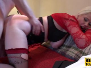 Leashed British Slut Submited into Cumswallow: Free Porn 92