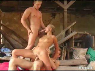 nominale groepsseks vid, nominale biseksueel neuken, bi sex porno klem