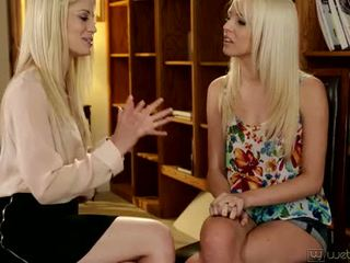Sierra Nevadah and Charlotte Stokely at WebYoung