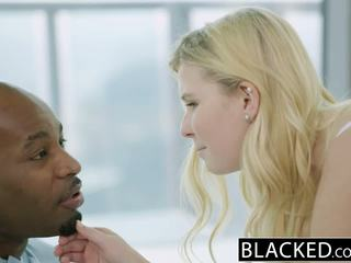 Blacked blondinka ýaşlar melissa may fucks her moms boyfriend