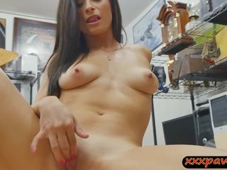Naughty babe nailed by pawnshop owner