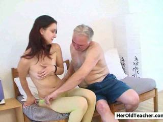 Old Man Seducing Young Girl