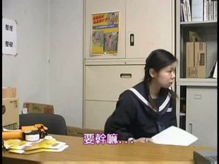 女学生, 铁杆, 亚洲人