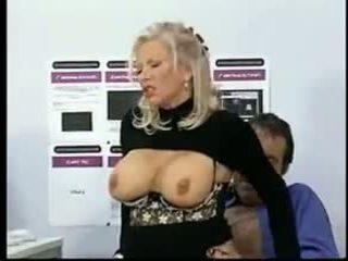 kijken grote borsten, vol grannies, oude + young klem