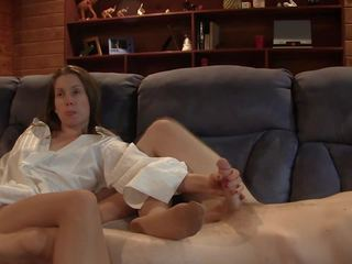 Brunette Nylon Footjob, Free Stockings HD Porn fc
