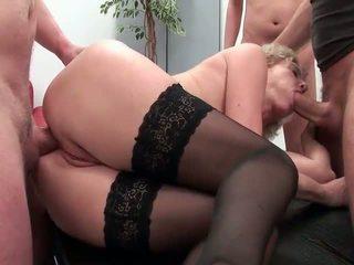 mooi groepsseks neuken, groot oma porno, echt oudere dames