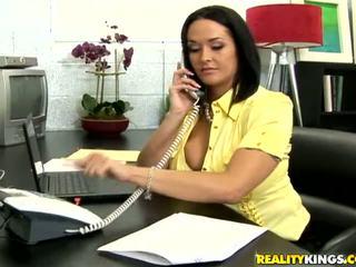 big boobs grátis, completo grandes mamas, qualidade escritório