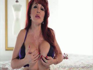 fresh redhead, most big tits real, nice pornstar real