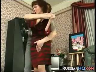 Maturidad rusya fucked by a bata guy