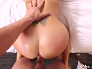 cougar, ass fucking, busty milf, stepmom