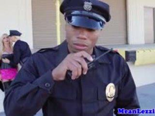 Busty Lez Police Station Sex With Nikki Benz