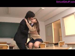 japanse, schoolmeisjes, aziatisch