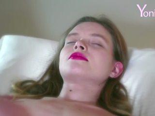 Yonitale: orgasmic massage with hot babe Eva Y