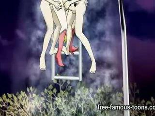 Sailormoon hentai orgy