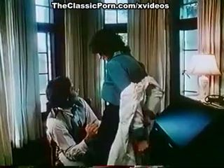 Kay Parker, John Leslie in vintage xxx clip with great sex scene