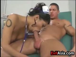 Asian Nurse Fucked By Her Patient
