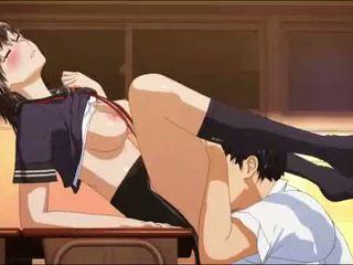 hentai, anime, scolara