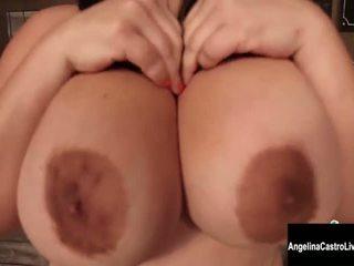 আপনি শ্যামাঙ্গিনী দেখা, বিগ boobs সুন্দর, সবচেয়ে হস্তমৈথুন করা