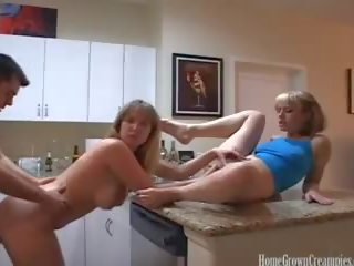 most messy, lesbian, quality threesome fuck