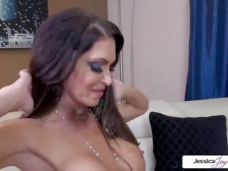 JessicaJaymes - Jessica rides that fat cock and suck all the cum out of it