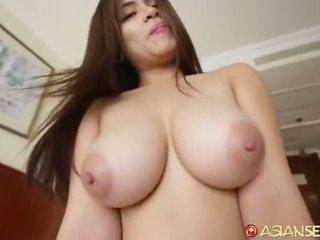 brunette, reverse cowgirl, heetste cock sucking kanaal