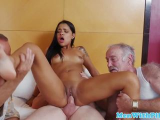 Exotic Teen Fucked by Geriatric, Free HD Porn 96