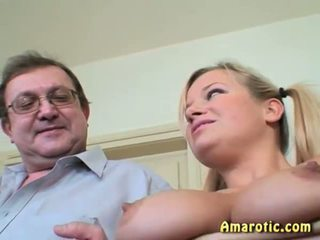 Old Man - Young Girl: Free Teen Porn Video e5