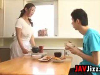 Hard Japanese Cock Fun In The Kitchen