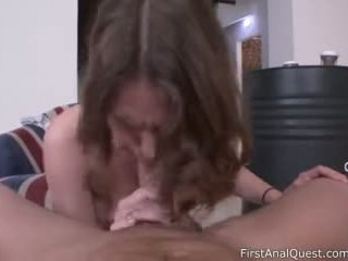 Young Babe Sofy Soul Sold Her Anal Virginity - First Anal Quest Video