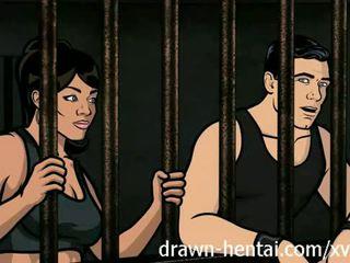 Archer hentai - fengsel sex med lana