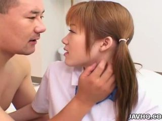 Japanese schoolgirl fucked by her teacherat home