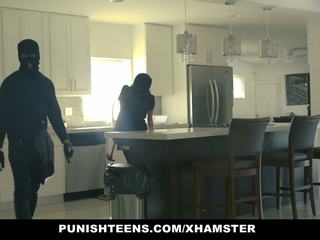 Punishteens - Big Ass Thief Handcuffed and Fucked: Porn 9a