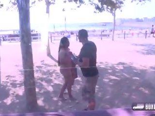 massage check, outdoor, public nudity fun