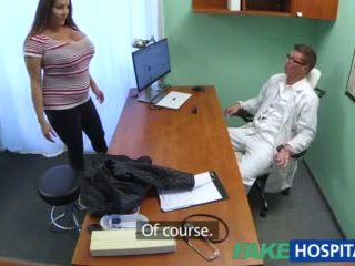 Fakehospital beib wants doctorã¢â€â™s sperma kõik üle tema suur tohutu tissid video