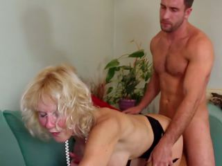 Old Mom with Hot Body Fucked by Toy Boy, Porn 6a