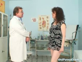 Karla visits gyno clinic with extremely hairy puss