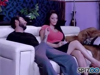 Spizoo - Big Booty Noelle Easton is Fucked by a Big Dick