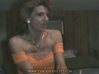Insane crackhead sex talk