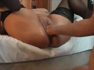 Squirting BBW MILF Being Fisted To Orgasm
