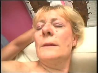 Mature Hairy Woman Fucks 2 - with Nice Long Pussy...