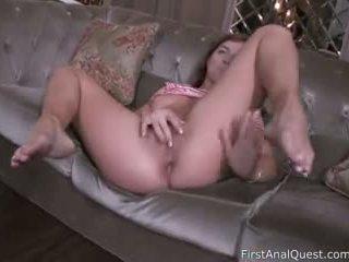 Cute Elnara Cat Enjoys Her First Time Anal Sex