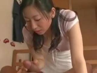 bruneta, orálny sex skutočný, najhorúcejšie japonec
