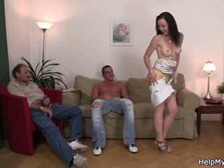 Brunette Wife Swap for Old Man, Free Teen Porn 34