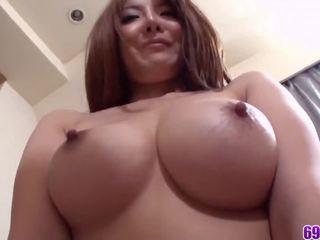 Perfect schoolgirl hardcore sex in POV with Yuna Hirose