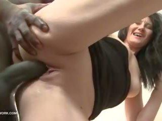 anal, interracial, creampie