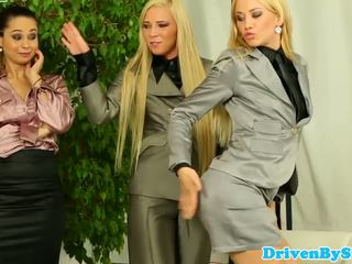 Vse babes assfucked in reverse gangbang